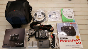Canon G12 and Accessories