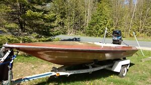 15 foot Baja Speed Boat with 150 Merc-Reduced!