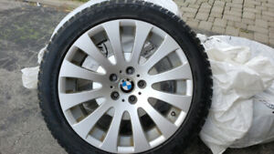 Set of BMW tires with rims ( winter tires)