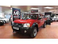 2009 NISSAN NP300 Double Cab Pick Up 2.5dCi 4WD NO VAT