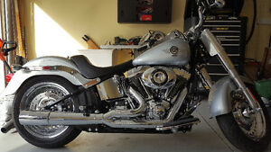 HD FatBoy ONLY 1300 KMS TRADES WELCOME