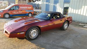1987 Corvette Convertable