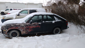 82 Chevette 5spd diesel Offers or possible trades.