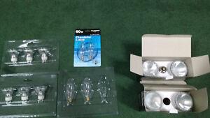 Assorted incandescent bulbs