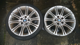 "2 x 18""inch BMW allows"