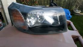 Transit Parts Transit MK6 MK7 Rear Bumper Cover Trim Panel 2000-2014 Slightly Scratched