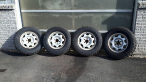 265/70R17  HERCULES TRAIL DIGGERS RIMS & TIRES