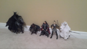 Lord of the rings action figures rare