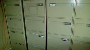 4 x4 drawer filing cabinets -good cond asking $250 for all