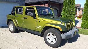 2007 Jeep Wrangler Sahara Unlimited Convertible