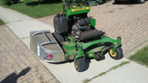 **GREAT DEAL** 2013 JOHN DEERE 648R STAND-ON MOWER