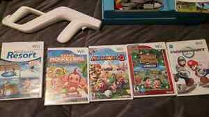 Wii system with original box..exc shape lots of games and access