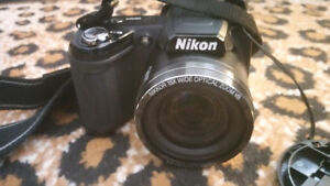 Nikon Coolpix L110 12.1MP w/4gb mem and Roots case