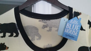 Little Blue House Black Bears Sleepshirt women's size M