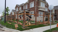 Great quality fence and deck construction services in Brampton!