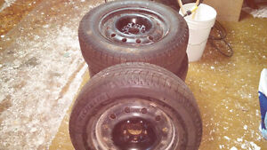16 inch Michelin Ice Winter tires and rims