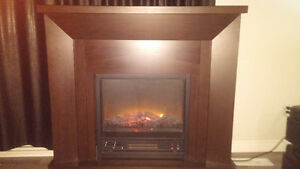 Fire place from canadian tire