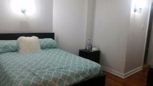creditview/eglinton basement seperate entrence$1200