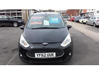 2013 FORD B MAX 1.4 Zetec From GBP8,495 + Retail Package