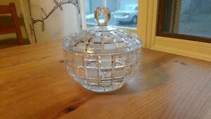 Crystal Lidded Candy Jar