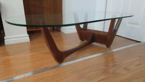 Mid Century Modern coffee table Adrian Pearsall style / caddy