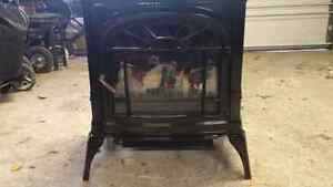 1450 watt Vermonte Casting electric fireplace