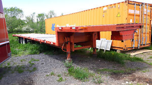 48 FT STEP DECK TRAILER ELECTRIC BRAKES