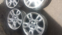 ACURA MDX 2006 FACTORY 17 INCH WHEELS WITH TPMS