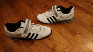 7b58ac3a36a1 Adidas Adipower Weightlifting Shoes Size 10 mens
