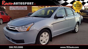 "CERTIFIED 2009 FOCUS ""SE"" 4DR - ONLY 98K - PST PAID - IN YORKTON"