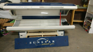 Tanning bed - get your sun on inside!
