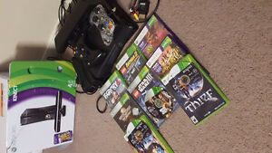 $175 Xbox 360 w/ Kinect, 10 games, and 2 controllers!