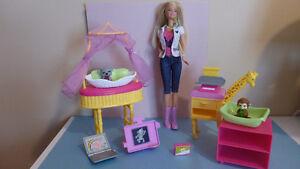 Barbie Zoo Doctor set