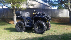 2015 Can Am Outlander XMR 800R