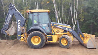 Gino's Contracting backhoe service/light duty floating