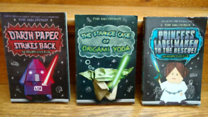 Star Wars Origami chapter book set by Tom Angleberger