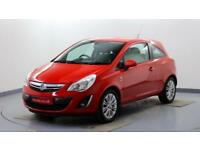 2012 Vauxhall Corsa 1.2i 16v SE Petrol red Manual