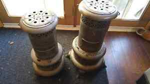 2 Antique Perfection Use Royalite oil heater. Canadian made Cornwall Ontario image 1