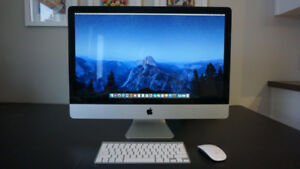 "iMac 27"", 2.7GHz Quad Core i5, 32GB Ram"