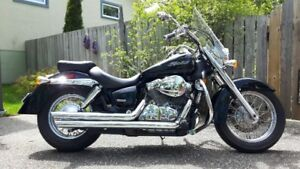 2007 Honda Shadow Aero with Cobra Pipes