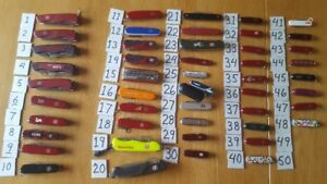 collection couteaux Victorinox