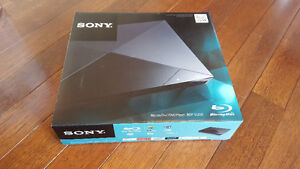 New Sony Blu Ray Player