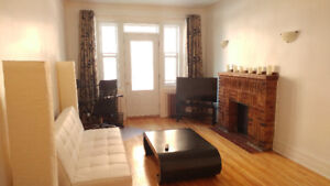 Gorgeous, freshly renovated, furnished 1-bedroom apartment