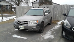 **REUCED** 2007 Subaru Forester Safety certified