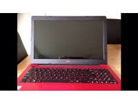 ASUS RED LAPTOP -Brand new
