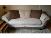 Three seater sofa very comfy