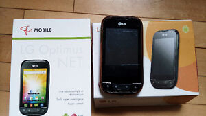 LG Optimus NET cell phone