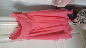 BRAND NEW alfred angelo coral dress size 22W