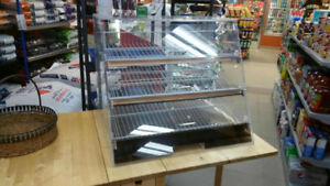 PLEXIGLASS PASTRY DISPLAY CASE-GREAT CONDITION
