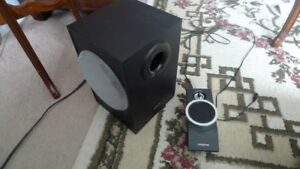 Creative Inspire T3100 Subwoofer & Only a Satellite Speaker